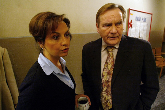 Veronika Freimanová a Jiří Štěpnička