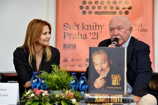 S hudebním publicistou Milošem Skalkou