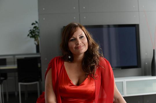 Jitka Čvančarová bude hrát sexuchtivou bohatou paničku.