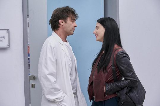 Kateřina je novou hvězdou Ordinace v růžové zahradě 2, kde svádí Pavla Řezníčka alias doktora Brabce.