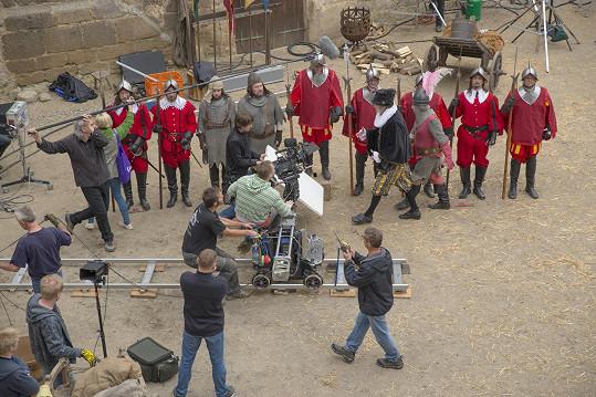 Na hradě Kost se začala natáčet nová pohádka.