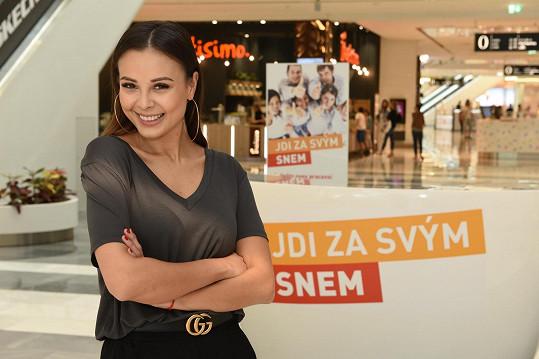 Monika svou účastí podpořila účastníky projektu Jdi za svým snem.