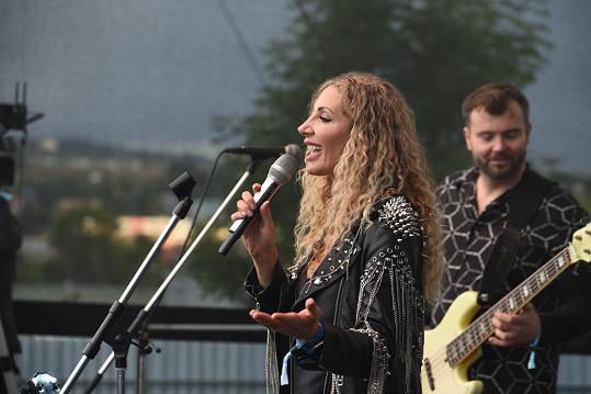 Na koncertě zazpívala i Olga Lounová.