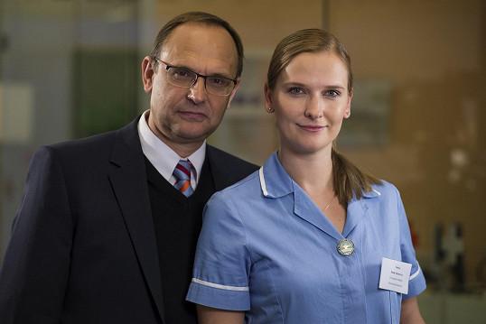 Pavel Kikinčuk a jeho dcera Kamila jsou novými posilami Ordinace v růžové zahradě 2.