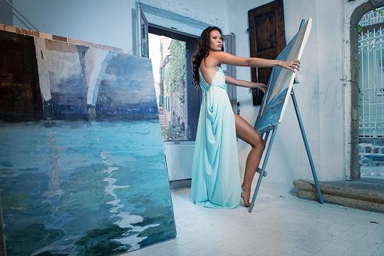 Fotograf Jaroslav Šimandl se inspiroval francouzskými malíři.