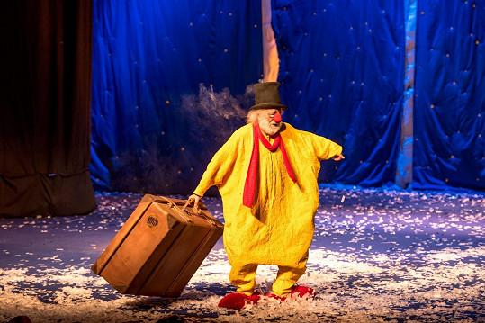 Zahrát si na jednom jevišti s klaunem Slavou Poluninem byl její profesní sen.
