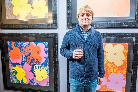 Lukáš si výstavu zasvěcenou Andymu Warholovi nemohl nechat ujít.