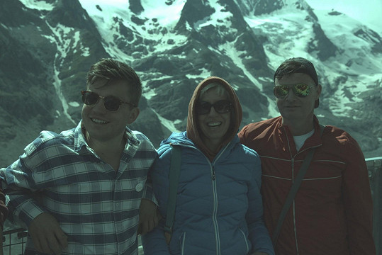 Zleva Martin Harich, Marcela Březinová a Martin France