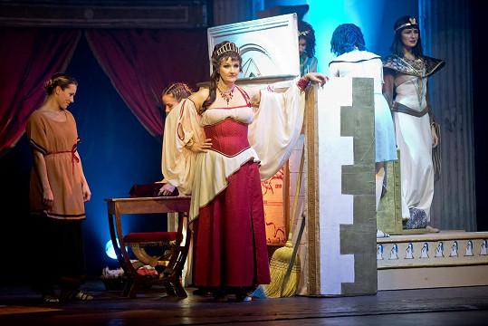 Muzikál Kleopatra jí přirostl k srdci.