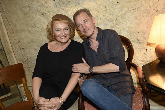 Představení o Marlene Dietrich se hraje v Ungeltu Milana Heina.