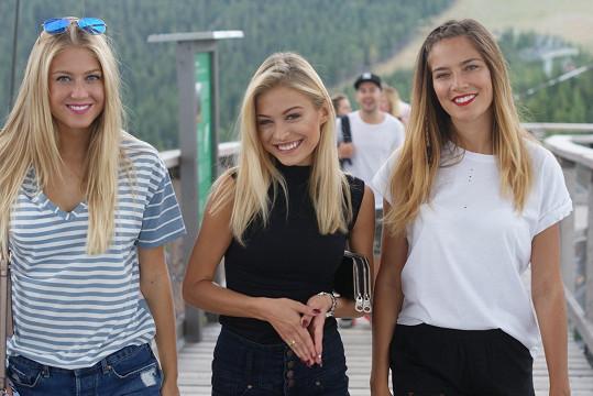 Tyhle tři vítězky České Miss si vážně sedly.