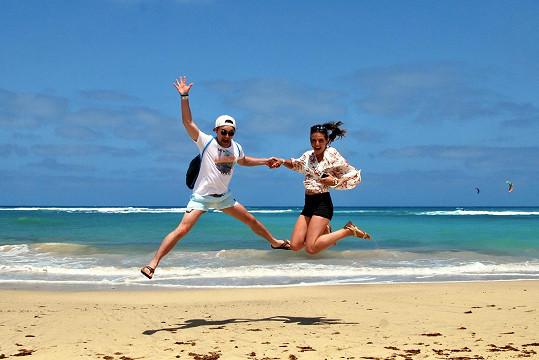 S přítelkyni navštívil Kapverdské ostrovy.