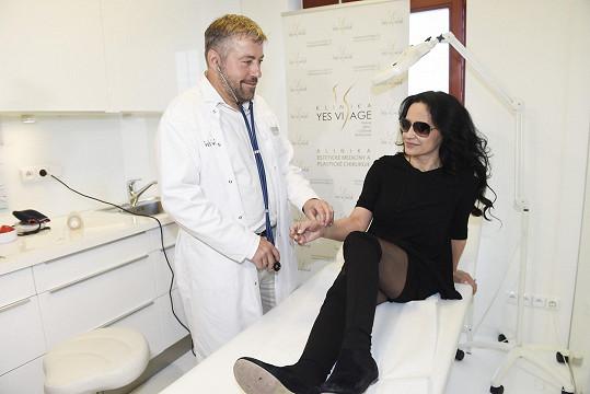 S ošetřujícím lékařem Pavlem Bočkem