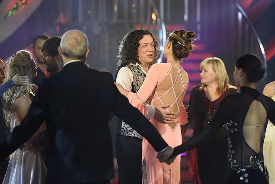 Taneček s kolegy na rozloučenou