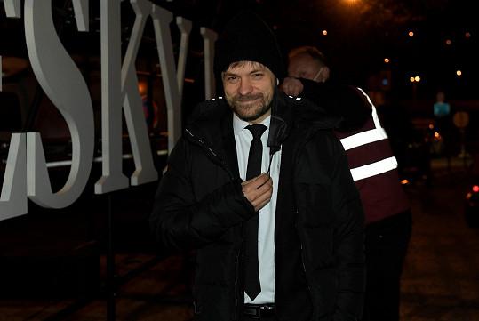 Jiří Mádl si došel pro Českého lva tentokrát jako herec, nikoli jako režisér.