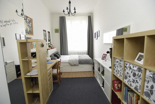 Pokoj pro hosty, včetně dospělých dětí.
