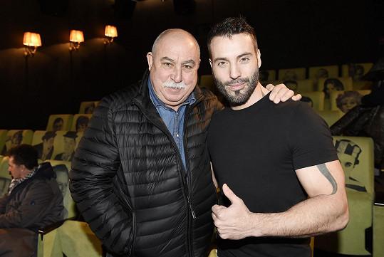 Andrej Hryc s autorem hudby Vaškem Noidem Bártou