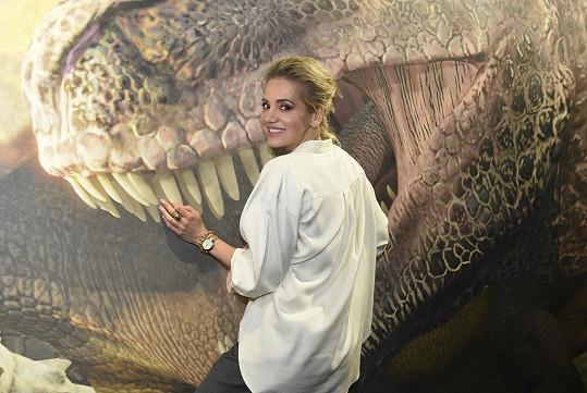 Potkali jsme ji na openingu dinosauří virtuální reality.