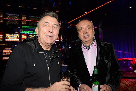 Peter Kovarčík s Ferem Feničem