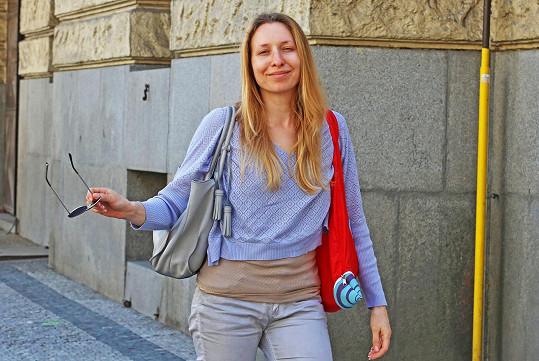 Tereza Bebarová bez make-upu