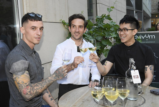 S kolegy na premiéře snímku