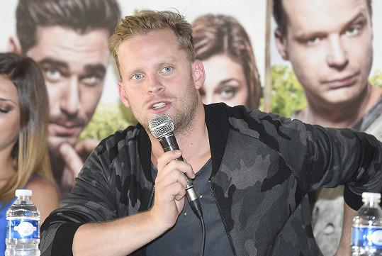 Jakub na tiskové konferenci k filmu
