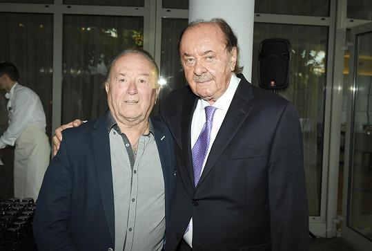 František Janeček s Petrem Jandou