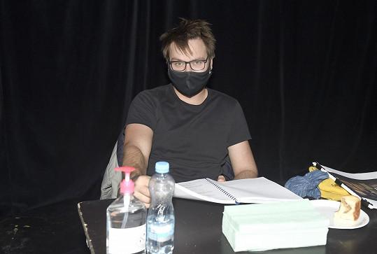 Do divadla po týdnech zavítal i Pepa Vágner.