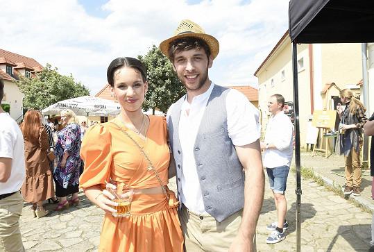S manželem Romanem Tomešem