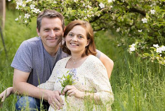 Vladimír Kořen s manželkou Martinou