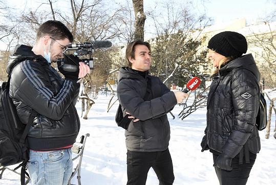 Pizingerová během rozhovoru pro Super.cz.