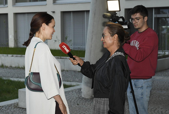Lilia při rozhovoru se Super.cz
