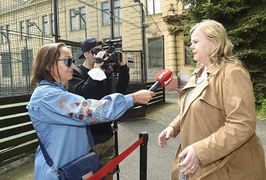 Sabina při rozhovoru se Super.cz