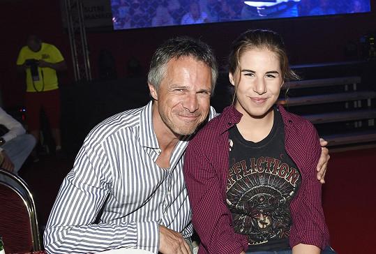 Janek s dcerou Ester