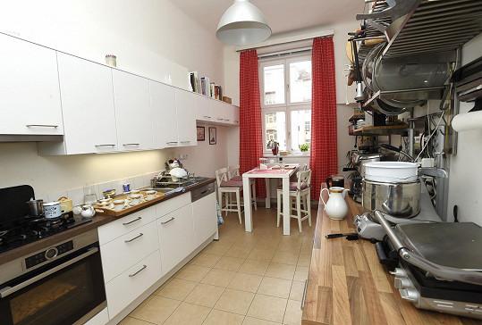 Dost velký prostor má i kuchyně.
