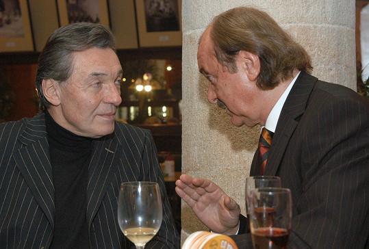 S Karlem Gottem spolupracoval několik desetiletí.