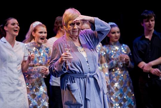 Obermaierová už se také těší na kolegy z divadla.