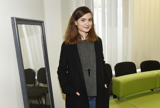 Eva na tiskové konferenci k nové letní divadelní scéně