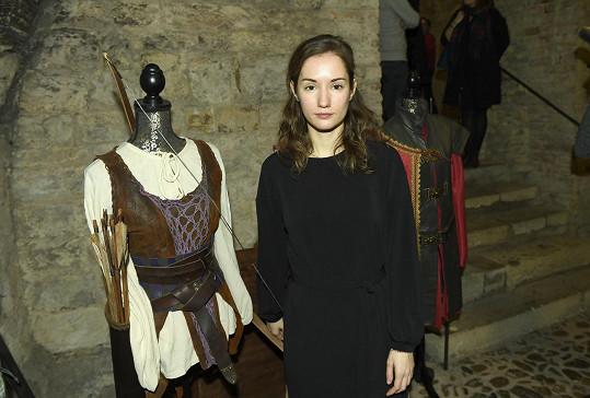 Eliška Křenková si naposledy zahrála v pohádce Princezna zakletá v čase.