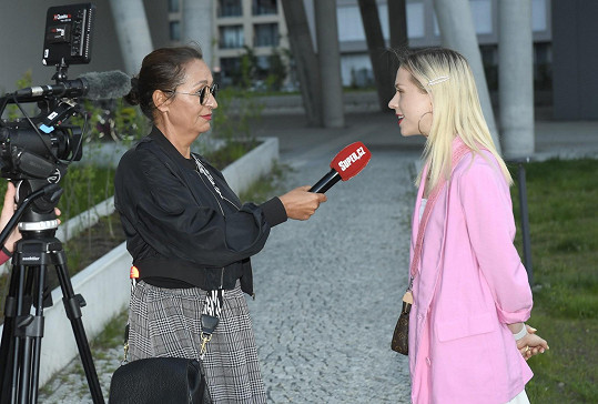 Mariana při rozhovoru se Super.cz