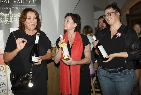 Zlata s kolegyněmi Ilonou Svobodovou a Anežkou Rusevovou