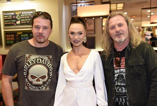 Na křtu klipu k písni Příběh, kterou složil, spolu s druhým kmotrem Janem Toužimským.