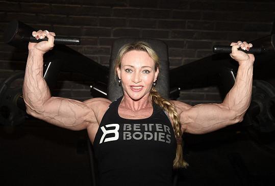 Margita Zámolová je nejlepší českou zástupkyní ve women´s physique a v kulturistice.