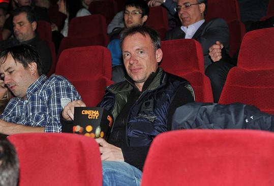 Zdeněk Style Hrubý si užíval film i popcorn.