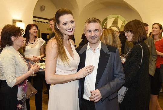Eva Čerešňáková s partnerem Martinem Ditmarem bojují o značku Česká Miss.