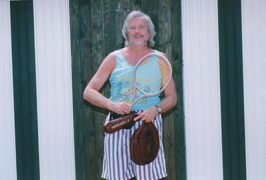 Jiří Wimmer rád aktivně sportoval.