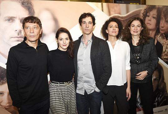 Klára s filmovou delegací včetně režisérky Ireny Pavláskové (vpravo)