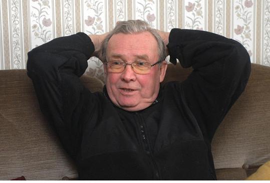 Rufolf Jelínek na archivním snímku