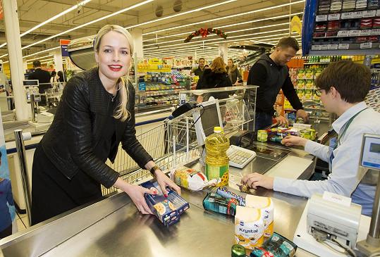V supermarketu nechala Markéta přes tři tisíce korun.