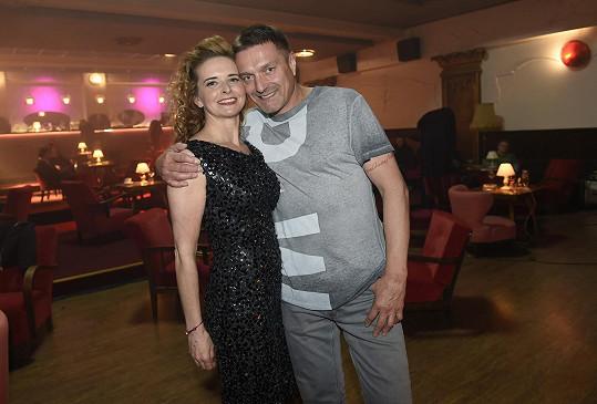 Lenka Nová a její přítel Petr Havlíček